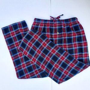 WEATHERPROOF Plaid Flannel PJ Bottoms Sz M EUC